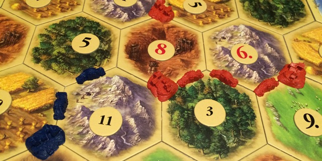 Settlers of Catan: Screwing Someone Else!