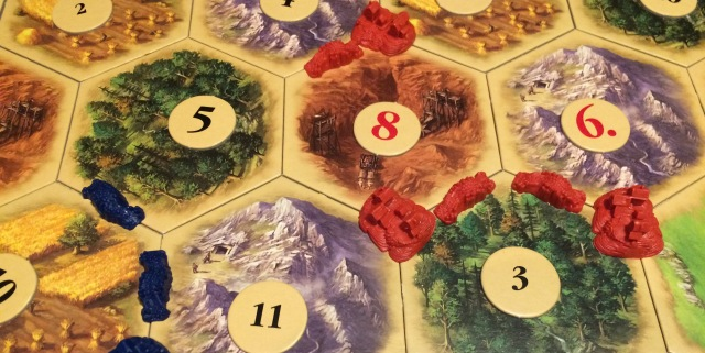 Settlers of Catan: Screwing Yourself