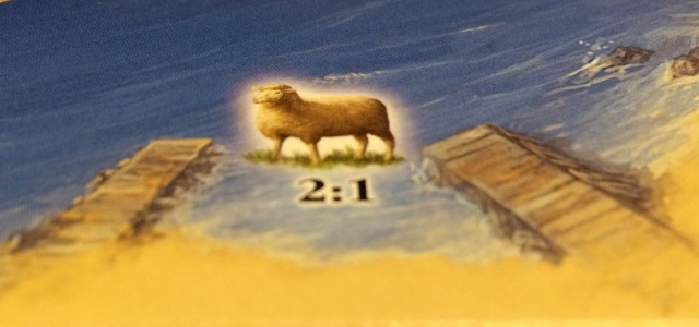 Settlers of Catan: Sheep Harbor