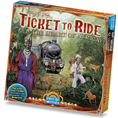 Ticket to Ride: #3 Heart of Africa