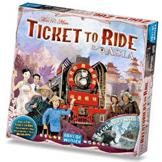 Ticket to Ride: #1 Asia