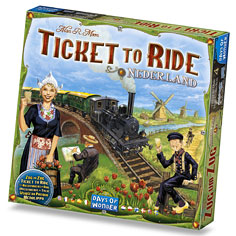 Ticket to Ride: #4 Nederland