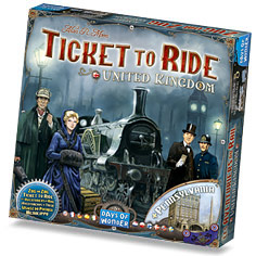 Ticket to Ride: #5 United Kingdom & Pennsylvania