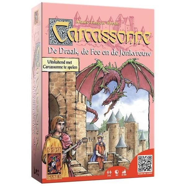 Carcassonne Uitbreiding: De Draak, de Fee en de Jonkvrouw