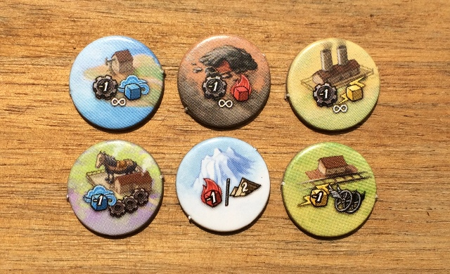 Steampunk Rally: Challenge Tiles