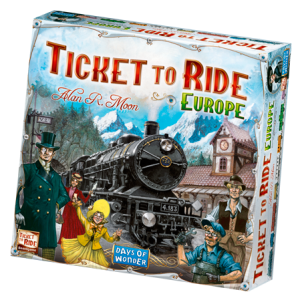 Leuke Familiespellen: Ticket to Ride Europe
