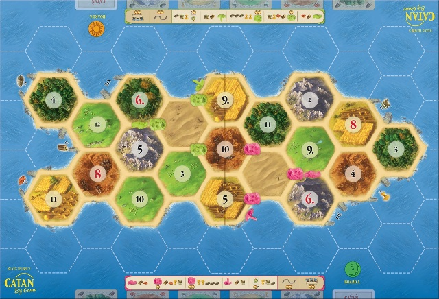 Catan Big Game Speelbord