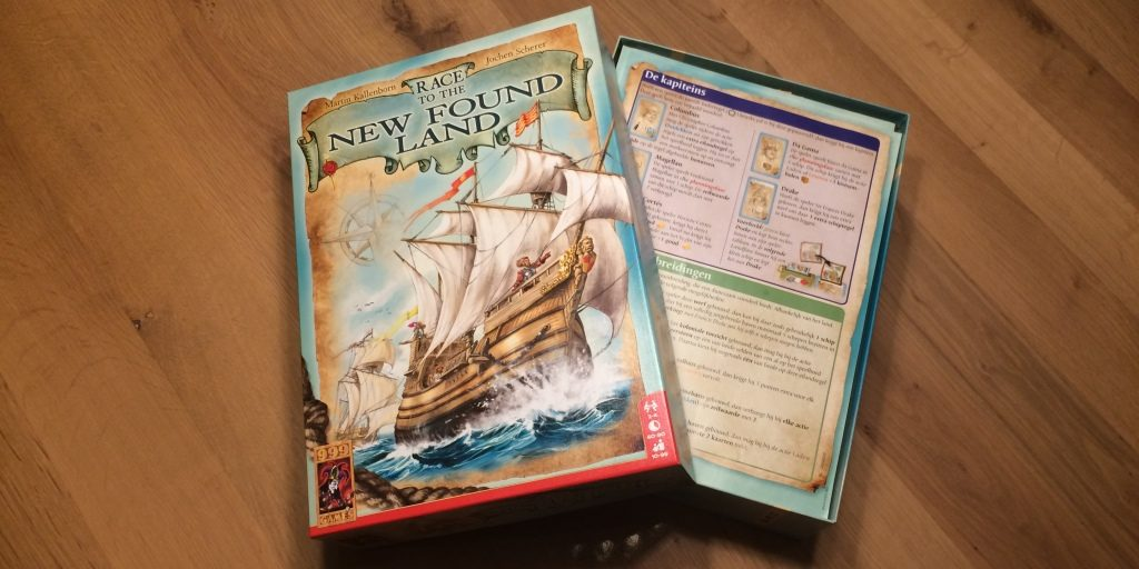 Race to the New Found Land Spel: Uitleg, Review, Unboxing en Meer!