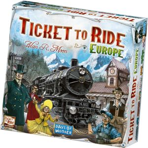 Kinderspel #13: Ticket to Ride Europe