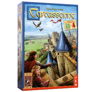 Bordspellen Top 10 - Nummer 01 - Carcassonne