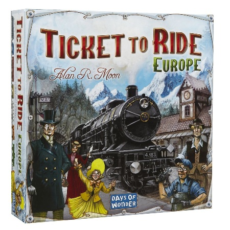 Bordspellen Top 10 - Nummer 03 - Ticket to Ride: Europe