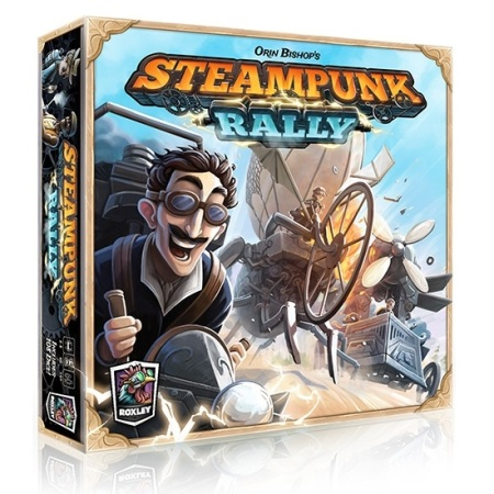 Bordspellen Top 10 - Nummer 08 - Steampunk Rally