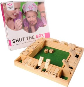 Shut the Box Dobbelsteen Spel