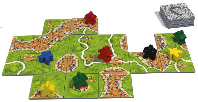 999 Games: Carcassonne (Speelmateriaal)