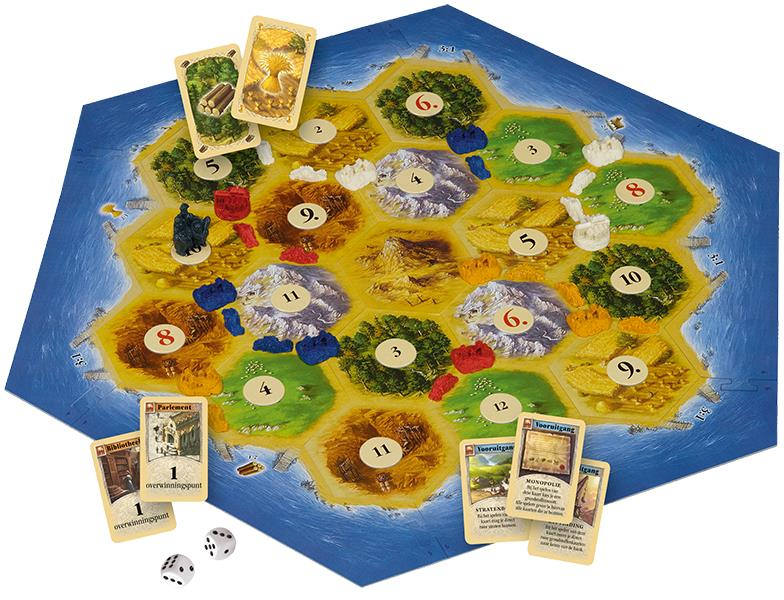 999 Games: Catan (Speelmateriaal)