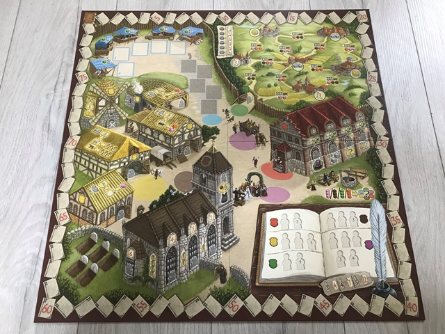 Worker Placement Game: Het Dorp (Bord)