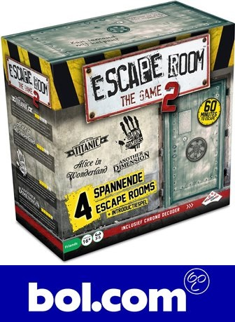 Nieuw bij bol.com: Escape Room The Game 2
