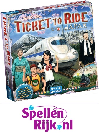 Pre-Order Ticket to Ride Japan & Italy