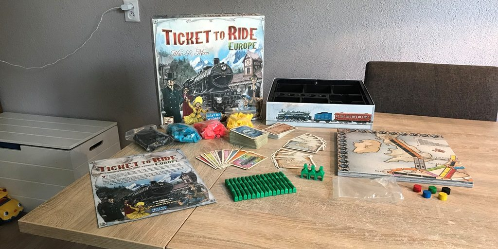 Ticket to Ride Europe: Uitleg, Unboxing + Review