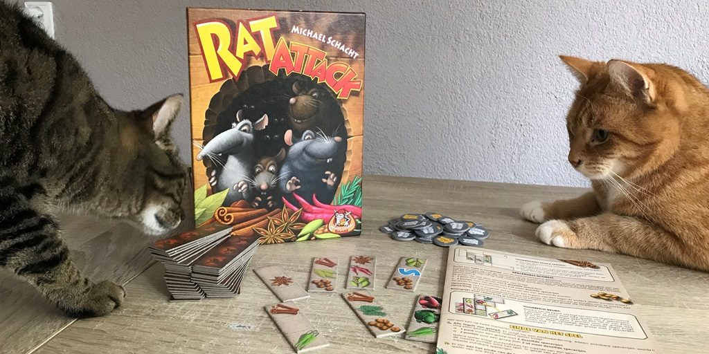 Rat Attack Spel: Uitleg, Unboxing en Review