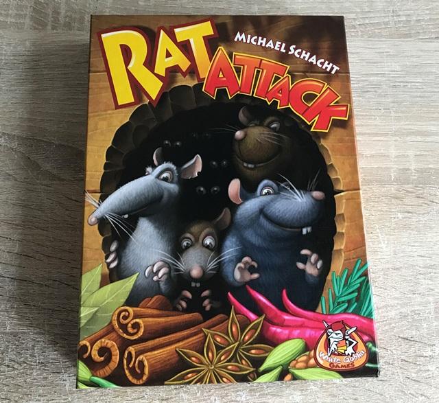Rat Attack Spel: Voorkant Doos