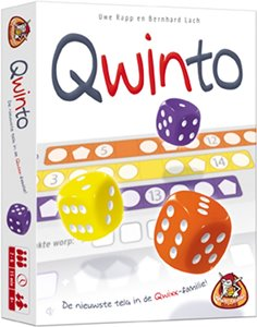 Roll & Write Game: Qwinto