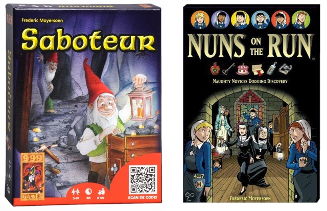Saboteur & Nuns on the Run