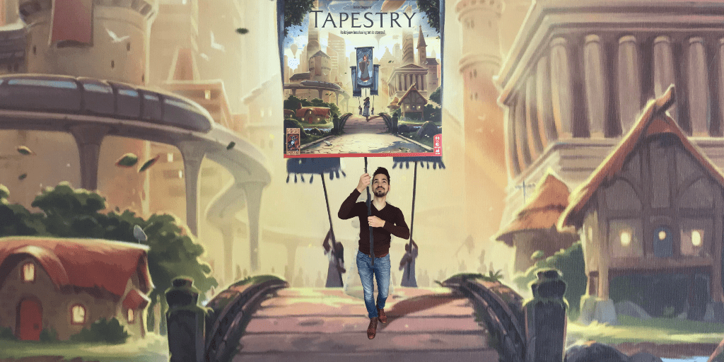 999Games Tapestry Spel Review, Uitleg + Unboxing!
