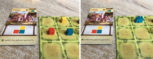 Tiny Towns Spel: Cottage Bouwen
