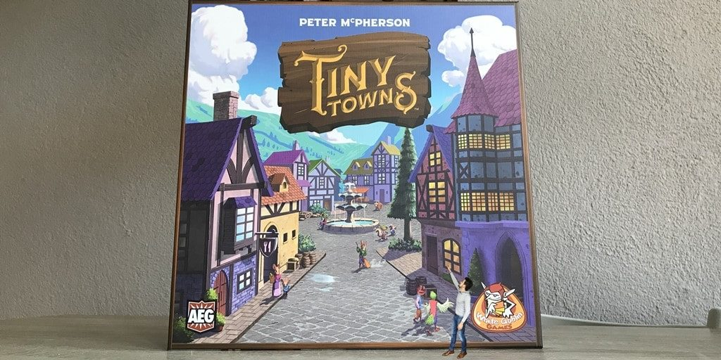 Tiny Towns Review, Speluitleg & Unboxing!
