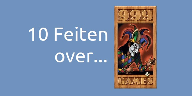 10 Feiten over 999Games!