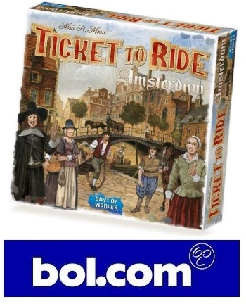 Coming Soon: Ticket to Ride Amsterdam