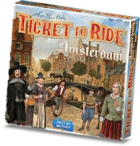 Leukste Bordspel 2020: Ticket to Ride Amsterdam