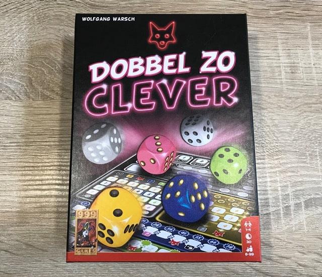Dobbel Zo Clever: Voorkant Doos