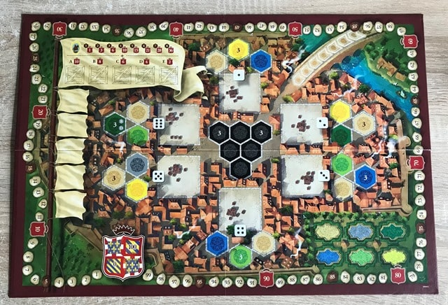 The Castles of Burgundy: Game Board 2-3 Players