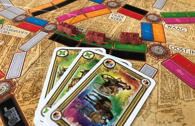 Ticket to Ride Amsterdam: Route Claimen