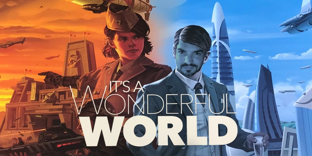 It's a Wonderful World: Review, Speluitleg + Unboxing!
