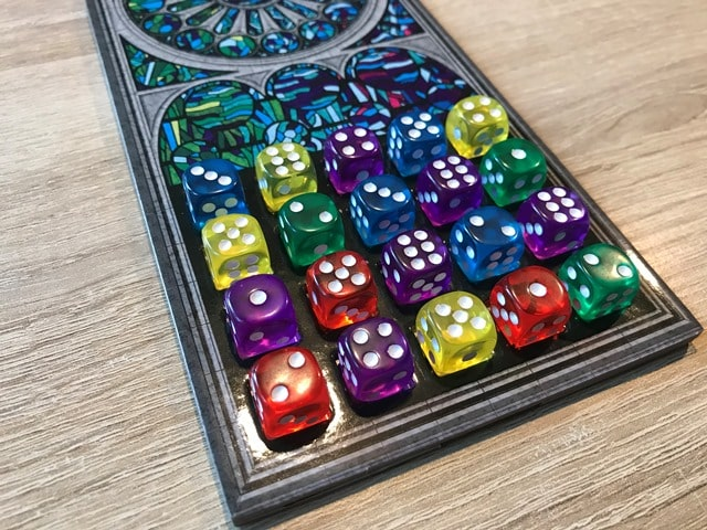 Sagrada Spel: Vol Spelersbord