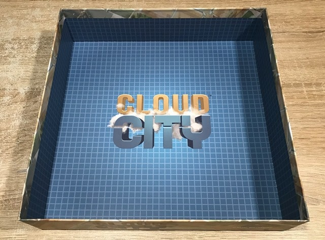 Cloud City Bordspel: Binnenkant Doos