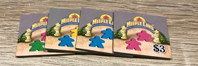 Meeple Land Bordspel: Adverteren