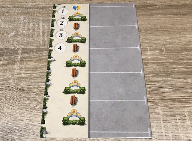 Meeple Land Bordspel: Parkingbord