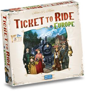 Leuk Spel 2021: Ticket to Ride Europe (15th Anniversary Edition)