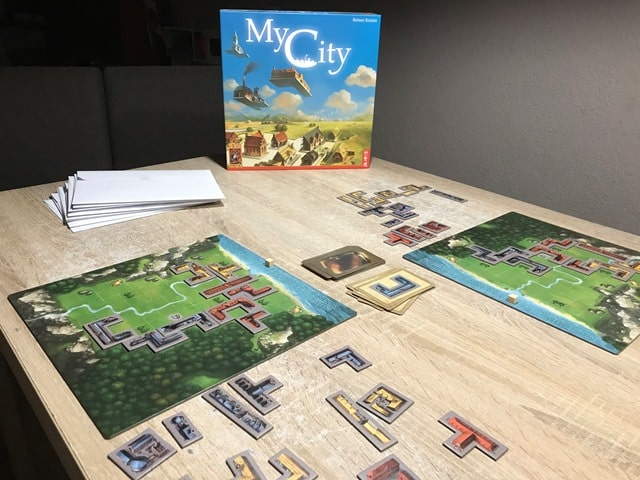 My City Bordspel: op Tafel