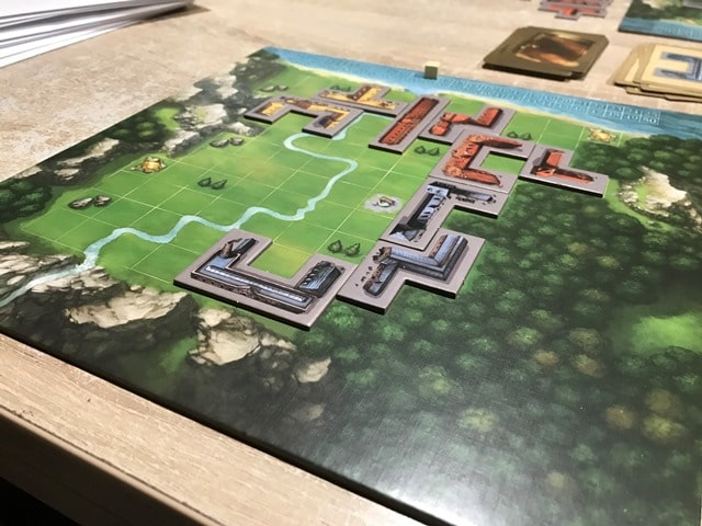 My City Bordspel: Puzzelstukken op Bord