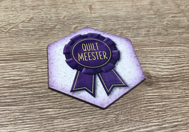 Calico Bordspel: Quiltmeester Medaille